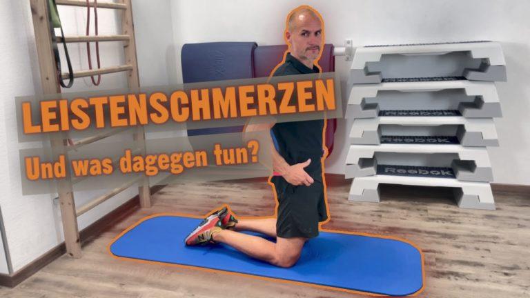 Leistenschmerzen Übungen
