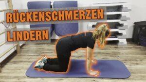 Rückenschmerzen Lindern